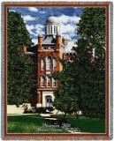 Mount Union College, Chapman Hall Throw Blanket