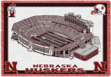 University of Nebraska, Stadium Throw Blanket