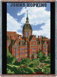 Johns Hopkins University, Building Throw Blanket