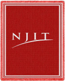 New Jersey Institute of Technology Wordmark Throw Blanket