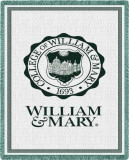 William & Mary, Seal Throw Blanket