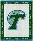 Tulane University, Logo Throw Blanket