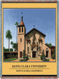 Santa Clara University Throw Blanket