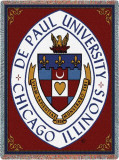 Depaul University, Crest Throw Blanket
