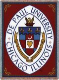 Depaul University, Crest Throw Blanket