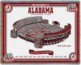 University of Alabama, National Champs Throw Blanket