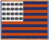 University of Florida, Flag Throw Blanket