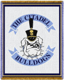 The Citadel Mascot Throw Blanket