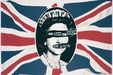 Sex Pistols- God Save The Queen Kunstdrucke