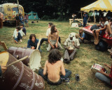 Woodstock 1969 Reproduccin en lienzo de la lmina