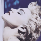Madonna True Blue Stretched Canvas Print