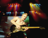 Def Leppard- Phil Collen Stretched Canvas Print
