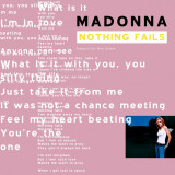 Madonna- Nothing Fails Stretched Canvas Print