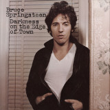 Bruce Springsteen, Darkness on the Edge of Town Stretched Canvas Print