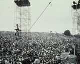 Woodstock 1969 Stretched Canvas Print