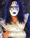 KISS -Ace Frehley Stretched Canvas Print