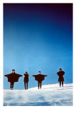 The Beatles in the Snow Posters