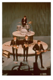 The Beatles on Stage Print