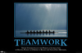 Give Up - Teamwork Prints
