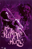 Jimmy Hendrix - Purple Haze Print