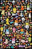 Japanese Erasers - Grid Láminas