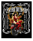 Lynyrd Skynyrd - Whiskey Rock and Roller, Devil in the Bottle Lærredstryk på blindramme