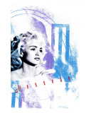 Madonna Stretched Canvas Print