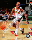 Brandon Jennings 2010-11 Action Photo