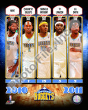 2010-11 Denver Nuggets Team Composite Photo