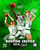 Boston Celtics 20,000 Points Club Portrait Plus Photo