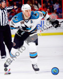 Ryane Clowe 2010-11 Action Photo