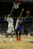 New York Knicks v Charlotte Bobcats: Raymond Felton Photographic Print by Kent Smith