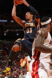 Indiana Pacers v Miami Heat: Danny Granger Photographic Print by Victor Baldizon