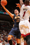 Indiana Pacers v Miami Heat: Josh McRoberts and Chris Bosh Photographic Print by Victor Baldizon