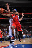 Los Angeles Clippers v Philadelphia 76ers: Baron Davis Photographic Print by Jesse D. Garrabrant