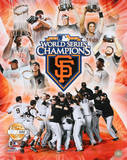 San Francisco Giants 2010 World Series Champions PF Gold Photo