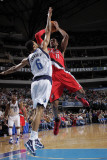 Portland Trail Blazers v Dallas Mavericks: LaMarcus Aldridge and Tyson Chandler Photographic Print by Glenn James