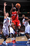 Los Angeles Clippers v Philadelphia 76ers: Baron Davis, Spencer Hawes and Elton Brand Photographic Print by Jesse D. Garrabrant