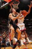Indiana Pacers v Miami Heat: Mike Dunleavy Photographic Print by Victor Baldizon