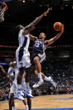 Memphis Grizzlies v Orlando Magic: Xavier Henry and Brandon Bass Photographic Print by Fernando Medina