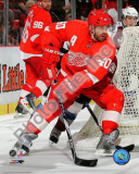 Henrik Zetterberg 2010-11 Action Photo