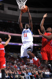 Los Angeles Clippers v Philadelphia 76ers: Jrue Holiday and Eric Bledsoe Photographic Print by Jesse D. Garrabrant