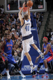 Detroit Pistons v Dallas Mavericks: Dirk Nowitzki Photographic Print by Glenn James