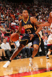 Indiana Pacers v Miami Heat: Brandon Rush Photographic Print by Victor Baldizon