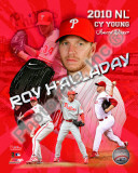 Roy Halladay 2010 National League Cy Young Award Winner Portrait Plus Photo