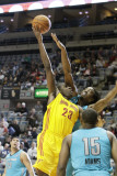 Sioux Falls Skyforce v Fort Wayne Mad Ants: Raymond Sykes and Anthony Kent Photographic Print by Ron Hoskins