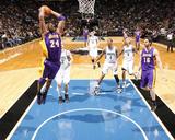 Los Angeles Lakers v Minnesota Timberwolves: Kobe Bryant Photographic Print by David Sherman