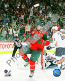 Mikko Koivu 2010-11 Action Photo