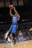 Orlando Magic v San Antonio Spurs: Jameer Nelson Photographic Print by D. Clarke Evans