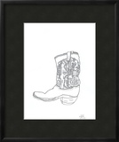 Mom's Boot Limited Edition Framed Print by John Woolley